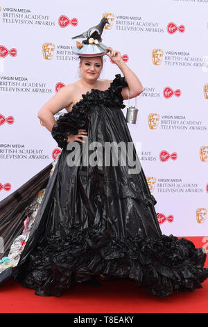 LONDON, UK. May 12, 2019: Daisy May Cooper arriving for the BAFTA TV Awards 2019 at the Royal Festival Hall, London. Picture: Steve Vas/Featureflash - Stock Image