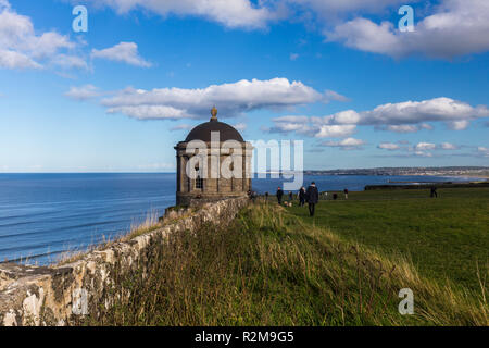 Mussenden Temple, Downhill Demesne, Castlerock, Coleraine, County Londonderry, N.Ireland - Stock Image