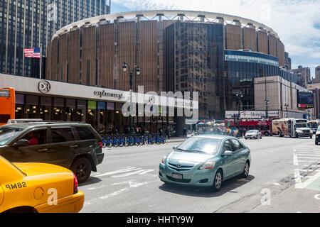 Madison Square Garden Midtown Manhattan New York City - Stock Image