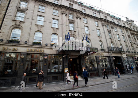 Wynns Hotel lower abbey street Dublin Republic of Ireland Europe The hotel was the site of the founding of the Irish Volunteers in 1913 and Cumann Na  - Stock Image