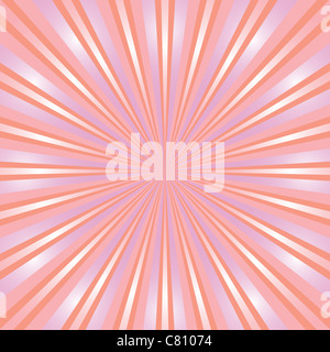 abstract background design with rays - Stock Image
