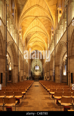England London Southwark Cathedral Interior - Stock Image