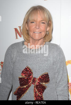 Celebrities attend 'Nativity! The Musical' Press Night held at the Hammersmith Apollo theatre  Featuring: Linda Robson Where: London, United Kingdom When: 20 Dec 2018 Credit: WENN.com - Stock Image
