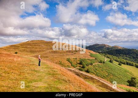 British Camp, Malvern Hills, Herefordshire and Worcestershire, England - Stock Image
