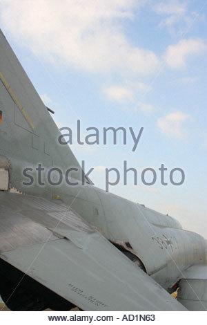 Zeltweg 2005 AirPower 05 airshow Austria, German Luftwaffe Phantom F4 - Stock Image