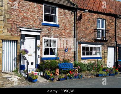 Houses in Stokesley, Hambleton, North Yorkshire, England UK - Stock Image