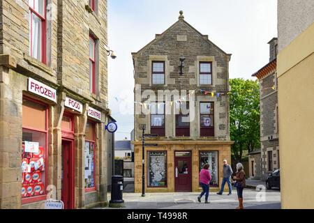 Albert Street, Kirkwall, The Mainland, Orkney Islands, Northern Isles, Scotland, United Kingdom - Stock Image