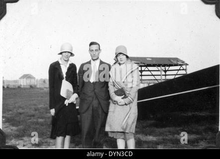 AL009B 170 Amelia Earhart Hicksville Aviation Country Club, Hicksville, NY - Stock Image
