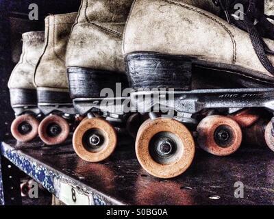 Roller skates - Stock Image