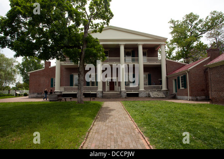 The Hermitage owned by President Andrew Jackson in Nashville Tennessee USA - Stock Image
