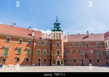 A typical view in Warsaw in Poland - Stock Image