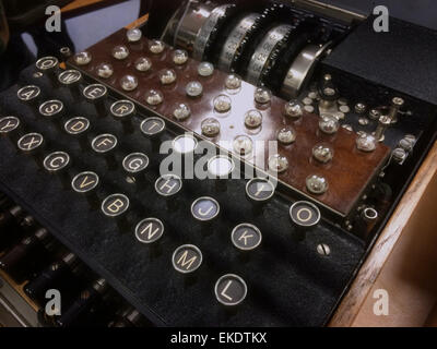 An Enigma Machine - Stock Image