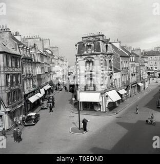 1950s, Paris, France - Stock Image