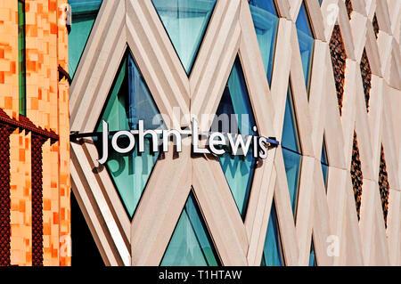 John Lewis Department Store, Leeds, England - Stock Image