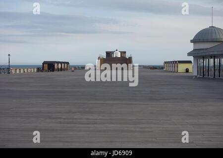 Hastings Pier, Hastings, East Sussex, UK - Stock Image