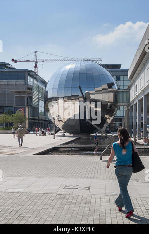 We The Curious 3D Planetarium, Millennium Square, Bristol - Stock Image