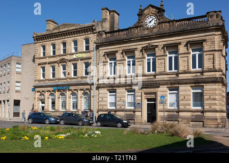Town Hall, Brighouse, West Yorkshire - Stock Image
