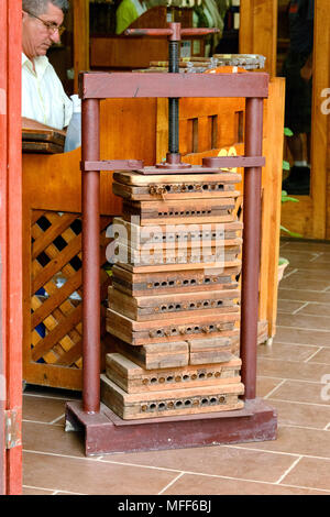Cigar Press - Stock Image