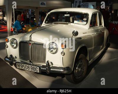 1962 Rover P4 110. Retro Málaga 2019. Spain. - Stock Image