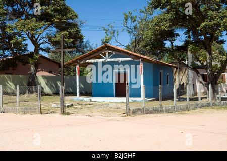 Povoado de São Jorge, Chapada dos Veadeiros, Holy Spirit Church, Goiás, Brazil, South America - Stock Image