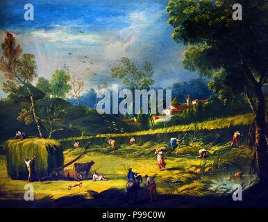 Summer by Antonio Diziani 1737-1797 Italy Italian - Stock Image