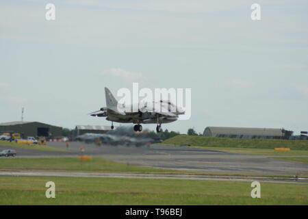 Hawker Siddeley Harrier, cold war Jet fighter - Stock Image