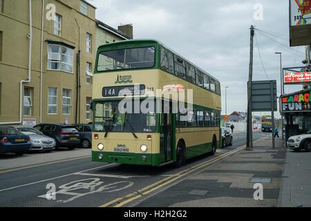 Leyland Atlantean No.326 in Blackpool -1 - Stock Image