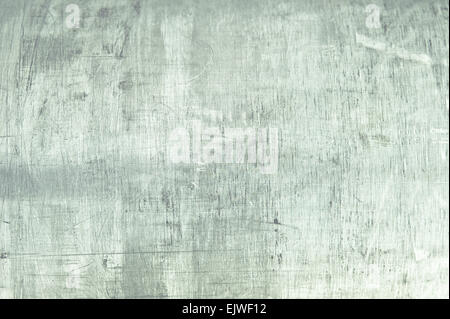 A messy brushed metal surface as an abstract - Stock Image