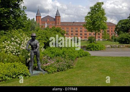 Germany, Niedersachsen, Celle, neues Rathaus, ehemalige Infanteriekaserne - Stock Image