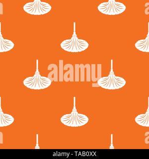 Sweeping pattern vector orange - Stock Image