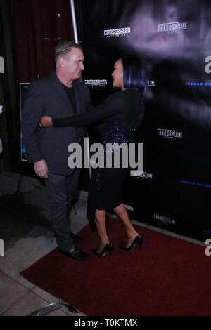'Crossbreed' Premiere - Arrivals  Featuring: Daniel Baldwin, Vivica A. Fox Where: Beverly Hills, California, United States When: 06 Feb 2019 Credit: WENN.com - Stock Image