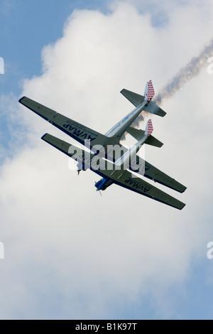 Airshow Maribor 2008, Slovenia June 15, 2008 - Stock Image