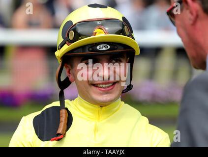 Andrea Atzeni, jockey - Stock Image