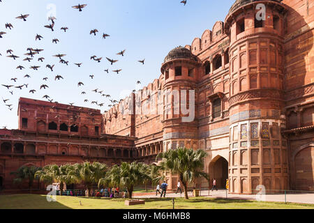 Red Fort, Agra, India - Stock Image