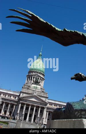 Congreso Nacional Buenos Aires Argentina - Stock Image