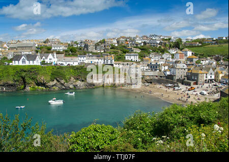 Port Isaac, Cornwall, UK - Stock Image