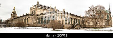 Germany, Dresden. Zwinger Palace panoramic. Credit as: Wendy Kaveney / Jaynes Gallery / DanitaDelimont.com - Stock Image