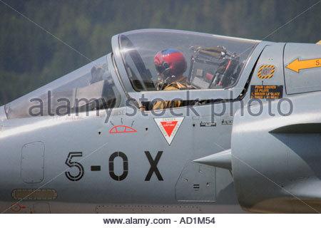 Zeltweg 2005 AirPower 05 airshow Austria, Mirage 2000 - Stock Image