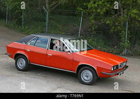 Wolseley Princess 2200HLS (1974), British Marques Day, 28 April 2019, Brooklands Museum, Weybridge, Surrey, England, Great Britain, UK, Europe - Stock Image