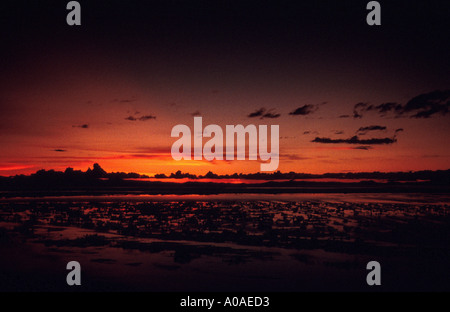 Sunrise Over Lake Titicaca, Peru, South America - Stock Image