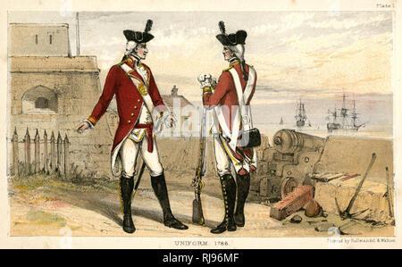 Artificers in uniform - Stock Image