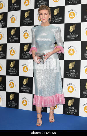 The Royal Television Society Awards (RTS Awards) 2019 held at Grosvenor House Hotel - Arrivals  Featuring: Victoria Derbyshire Where: London, United Kingdom When: 19 Mar 2019 Credit: Lia Toby/WENN.com - Stock Image