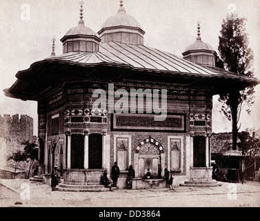 Fountain of Sultan Selim, Constantinople, Turkey, 1862, by Francis Bedford - Stock Image
