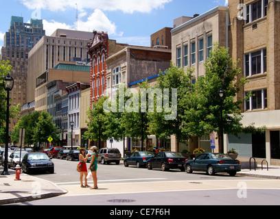 Raleigh, North Carolina, NC, downtown. - Stock Image