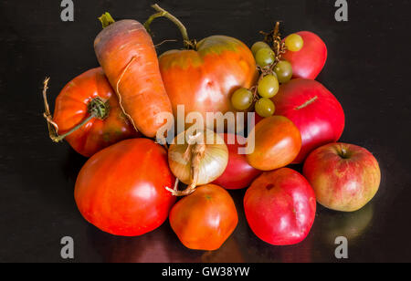 Village vegetables - Stock Image