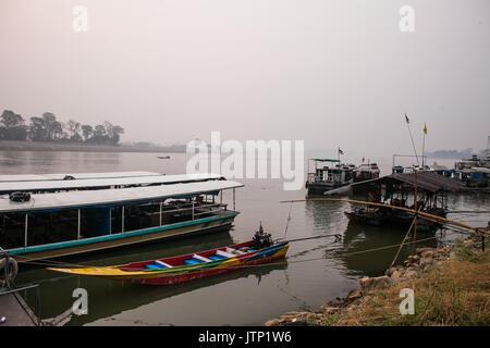 Mekong River, Thailand - Stock Image