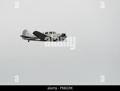 The Spartan 7W Executive NC17633 personal luxury aircraft at the Scottish International Airshow - Stock Image