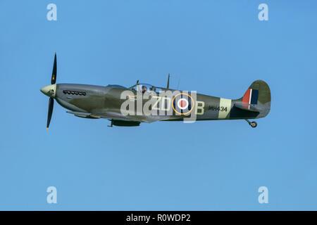 Vickers Supermarine Spitfire WW2 fighter plane - Stock Image