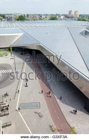 Central station, Rotterdam, Holland - Stock Image
