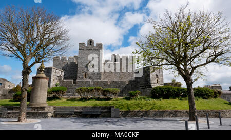 RS 8016  The Castle, Castletown, Isle of Man, UK - Stock Image